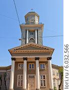 Купить «Лютеранская церковь Иисуса (1822 г.) в Риге, Латвия», фото № 6032566, снято 25 мая 2014 г. (c) Иван Марчук / Фотобанк Лори