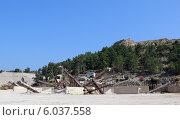 Каменоломня (карьер) в Турции. Стоковое фото, фотограф Людмила Жукова / Фотобанк Лори