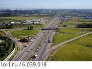 Симферопольское шоссе и Домодедовское шоссе (2014 год). Редакционное фото, фотограф Дмитрий Бакулин / Фотобанк Лори