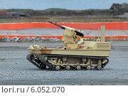 Купить «Робот-пулемет на гусеничном ходу», фото № 6052070, снято 17 октября 2018 г. (c) Игорь Долгов / Фотобанк Лори