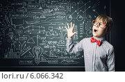 Купить «Smart schoolboy», фото № 6066342, снято 22 октября 2018 г. (c) Sergey Nivens / Фотобанк Лори