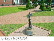 Купить «Скульптура кошки, Калининград», эксклюзивное фото № 6077754, снято 1 июля 2014 г. (c) Svet / Фотобанк Лори