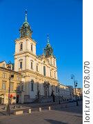 Купить «Базилика святого Креста. Варшава. Польша», фото № 6078070, снято 10 марта 2014 г. (c) Андрей Андронов / Фотобанк Лори