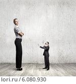 Subordination in business. Стоковое фото, фотограф Sergey Nivens / Фотобанк Лори