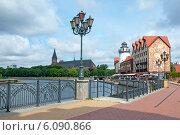 Купить «Набережная. Калининград», эксклюзивное фото № 6090866, снято 1 июля 2014 г. (c) Svet / Фотобанк Лори
