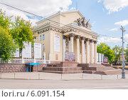 Купить «Театрально-концертный зал «Дворец на Яузе». Москва», эксклюзивное фото № 6091154, снято 29 июня 2014 г. (c) Владимир Князев / Фотобанк Лори