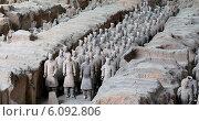 Купить «Терракотовая армия династии Цинь. Сиань, Китай», фото № 6092806, снято 14 октября 2013 г. (c) Владимир Журавлев / Фотобанк Лори