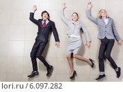 Купить «Funny businesspeople», фото № 6097282, снято 5 октября 2013 г. (c) Sergey Nivens / Фотобанк Лори
