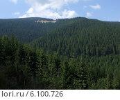 Вид на румынские горы Чибин. Стоковое фото, фотограф Irina / Фотобанк Лори