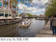 Купить «Весенним днем по Амстердаму», фото № 6106190, снято 27 апреля 2013 г. (c) Скудова Елена / Фотобанк Лори