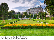 Парк в Вене, Австрия (2013 год). Стоковое фото, фотограф Александр Власик / Фотобанк Лори