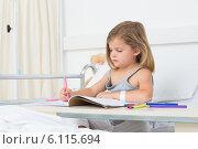 Купить «Girl coloring book in hospital», фото № 6115694, снято 19 ноября 2013 г. (c) Wavebreak Media / Фотобанк Лори