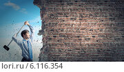 Купить «Overcoming challenges», фото № 6116354, снято 21 июня 2013 г. (c) Sergey Nivens / Фотобанк Лори