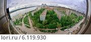 Панорама Самары. Стоковое фото, фотограф Сергей Тарасов / Фотобанк Лори
