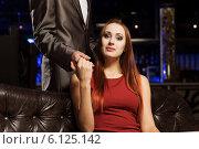 Elegant couple. Стоковое фото, фотограф Sergey Nivens / Фотобанк Лори