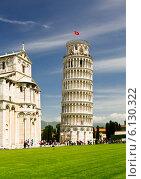 Купить «Падающая башня. Пиза», фото № 6130322, снято 10 мая 2014 г. (c) Наталья Волкова / Фотобанк Лори
