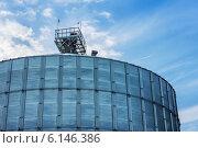 Зернохранилище для хранения пшеницы и других зерновых культур (2012 год). Стоковое фото, фотограф Елена Ларина / Фотобанк Лори
