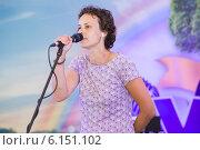 Купить «Юлия Чичерина», эксклюзивное фото № 6151102, снято 11 июля 2014 г. (c) Михаил Ворожцов / Фотобанк Лори