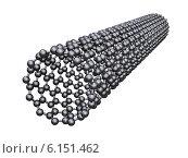 Купить «Углеродная нанотрубка», иллюстрация № 6151462 (c) Сергей Куров / Фотобанк Лори
