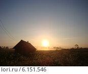 Закат. Стоковое фото, фотограф Татьяна Голубева / Фотобанк Лори