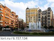 Купить «Plaza Alferez Provisional. La Rioja, Spain», фото № 6157134, снято 27 июня 2014 г. (c) Яков Филимонов / Фотобанк Лори