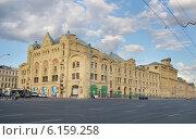 Купить «Москва, Новая площадь, Политехнический музей», эксклюзивное фото № 6159258, снято 4 июля 2014 г. (c) Dmitry29 / Фотобанк Лори