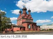 Купить «Церковь Богоявления. Ярославль», фото № 6208958, снято 22 июля 2014 г. (c) Наталья Волкова / Фотобанк Лори