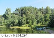 Купить «Валдайская природа», фото № 6234294, снято 8 августа 2013 г. (c) Игорь Гордеев / Фотобанк Лори