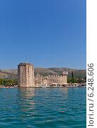 Купить «Венецианский замок Камерленго (1437 г.) в г. Трогир, Хорватия. Объект всемирного наследия ЮНЕСКО», фото № 6248606, снято 19 июля 2014 г. (c) Иван Марчук / Фотобанк Лори