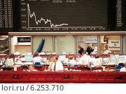 Купить «Floor trading on the Frankfurt Stock Exchange», фото № 6253710, снято 17 мая 2000 г. (c) Caro Photoagency / Фотобанк Лори