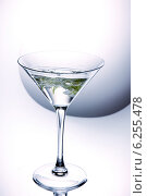 Цветы в бокале для мартини. Стоковое фото, фотограф Ирина Еськина / Фотобанк Лори