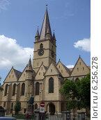 Католическая церковь в Клуж-Напоке (2010 год). Стоковое фото, фотограф Irina / Фотобанк Лори