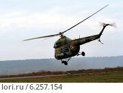 A Mi-2 helicopter of the Polish Air Force (2000 год). Редакционное фото, агентство Caro Photoagency / Фотобанк Лори