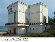 Купить «Здание диорамы «Штурм Сапун-горы 7 мая 1944 года» в Севастополе. Крым», фото № 6262122, снято 24 июля 2014 г. (c) Ирина Балина / Фотобанк Лори