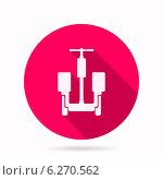 Значок альтернативного транспорта для доставки. Стоковая иллюстрация, иллюстратор Oleksandr Yershov / Фотобанк Лори