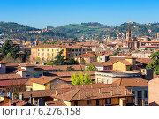 Вид на крыши города. Болонья, Италия (2008 год). Стоковое фото, фотограф Andrei Nekrassov / Фотобанк Лори