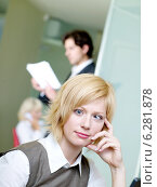 Workers in the office. Стоковое фото, агентство BE&W Photo / Фотобанк Лори