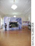 Мамонтенок Юка. Палеонтологическая выставка (2014 год). Редакционное фото, фотограф syngach / Фотобанк Лори
