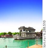 Купить «Marble ship Shi Fang in Summer Palace, Beijing, China», фото № 6288510, снято 27 марта 2019 г. (c) Лукиянова Наталья / Фотобанк Лори