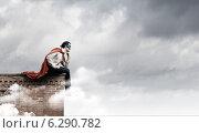 Купить «Thoughtful superman», фото № 6290782, снято 2 июля 2020 г. (c) Sergey Nivens / Фотобанк Лори