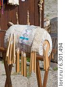 Купить «Плетение кружева на коклюшках», эксклюзивное фото № 6301494, снято 15 августа 2014 г. (c) Александр Щепин / Фотобанк Лори