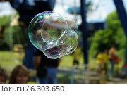 Мыльные пузыри. Стоковое фото, фотограф Сергей Погодин / Фотобанк Лори