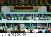 Купить «Istanbul Stock Boerse», фото № 6306406, снято 21 мая 2002 г. (c) Caro Photoagency / Фотобанк Лори