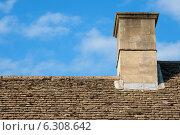 Сланцевая крыша. Оксфорд, Англия (2009 год). Стоковое фото, фотограф Andrei Nekrassov / Фотобанк Лори