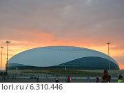 Ледовый Дворец «Большой» Редакционное фото, фотограф Екатерина Романенко / Фотобанк Лори