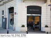Купить «Polish fashion industry: Tru Trussardi boutique on Їurawia Street», фото № 6316378, снято 3 августа 2020 г. (c) BE&W Photo / Фотобанк Лори