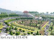 """Сад цветов """"Нонг Нуч"""", Таиланд (2013 год). Редакционное фото, фотограф Павлова Дарья / Фотобанк Лори"""