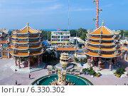 Китайский храм (2013 год). Редакционное фото, фотограф Павлова Дарья / Фотобанк Лори