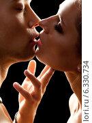 Купить «Kiss», фото № 6330734, снято 6 июля 2014 г. (c) Serg Zastavkin / Фотобанк Лори