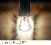 Лампа накаливания. Стоковое фото, фотограф Александр Басов / Фотобанк Лори